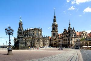 Dresden Hofkirche Und Residenzschloss