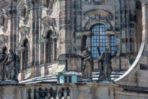 Dresden Hofkirche detail