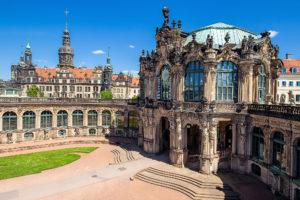 Dresden Zwinger Deutscher Pavillion