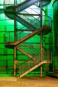 Treppe am Tauchgasometer, LaPaDu